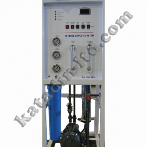 Reverse osmosis system RO-300 width recirculation