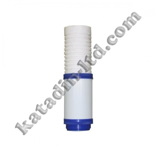 "The filter cartridge combined ""polypropylene yarn + granulated coal"""